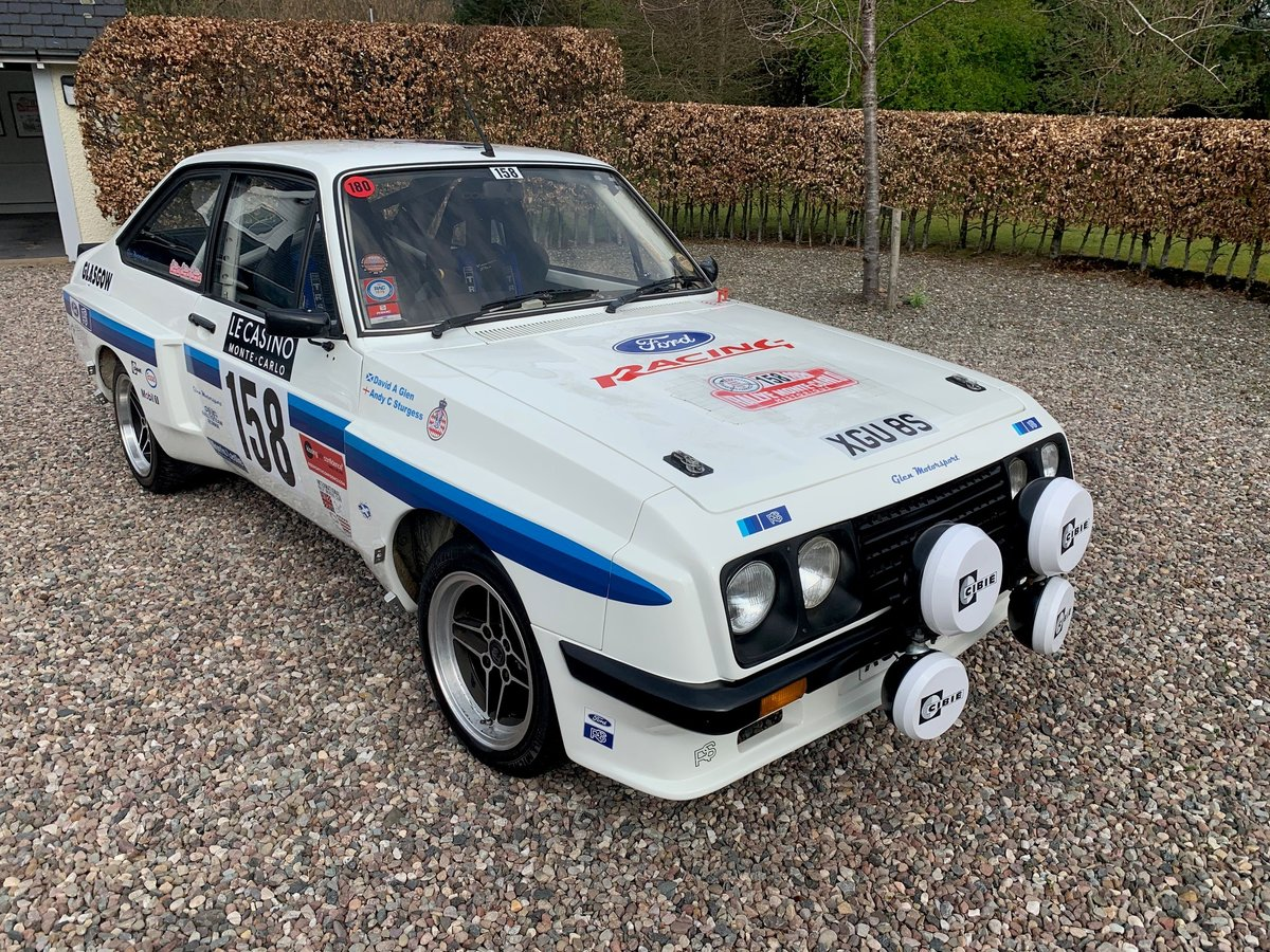 1978 Ford Escort mk2 RS2000 X-pack Historic Rally Car SOLD (picture 1 of 6)