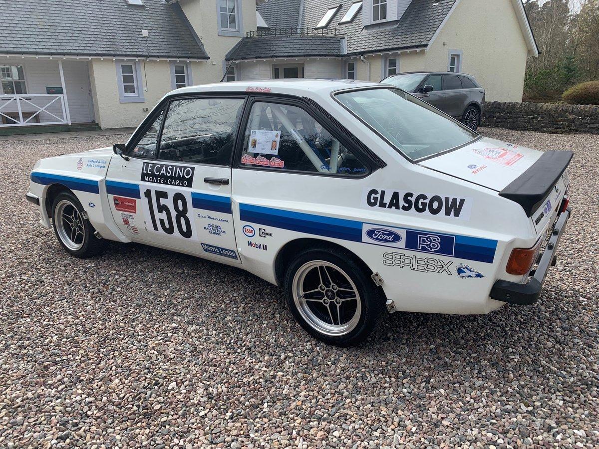 1978 Ford Escort mk2 RS2000 X-pack Historic Rally Car SOLD (picture 2 of 6)