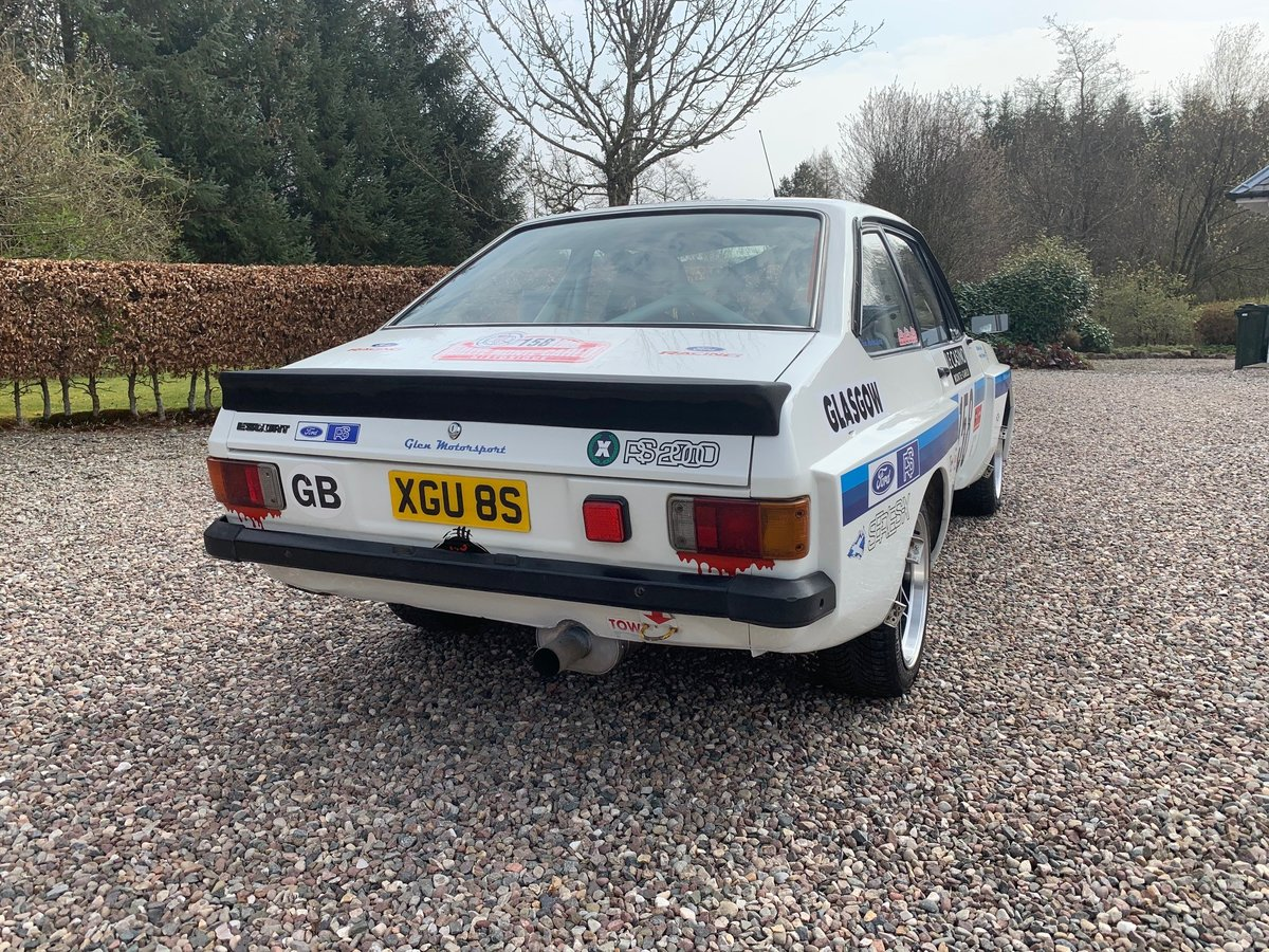 1978 Ford Escort mk2 RS2000 X-pack Historic Rally Car SOLD (picture 3 of 6)