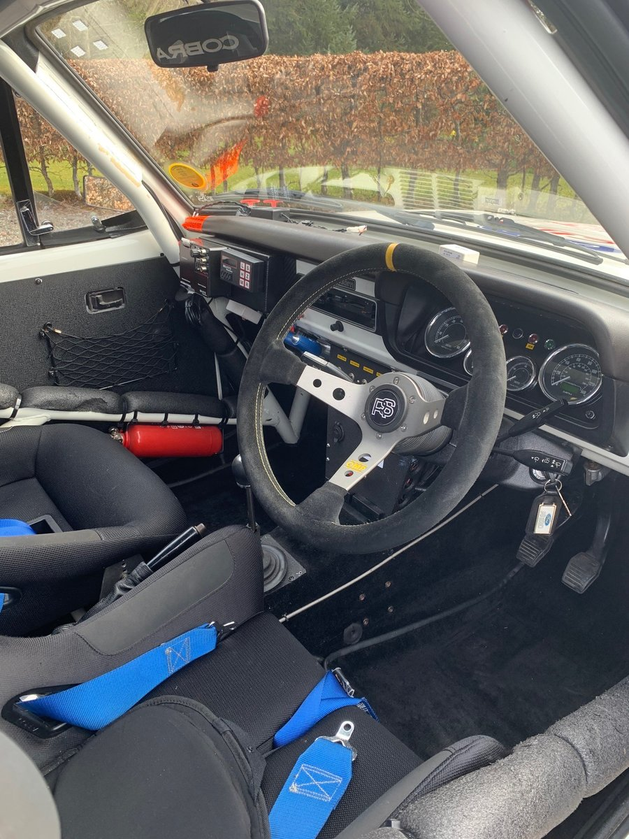 1978 Ford Escort mk2 RS2000 X-pack Historic Rally Car SOLD (picture 4 of 6)