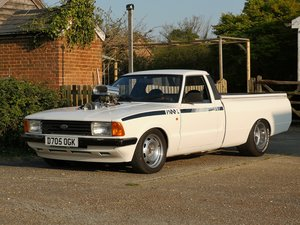 1987 Ford Cortina P100 Pickup HotRod