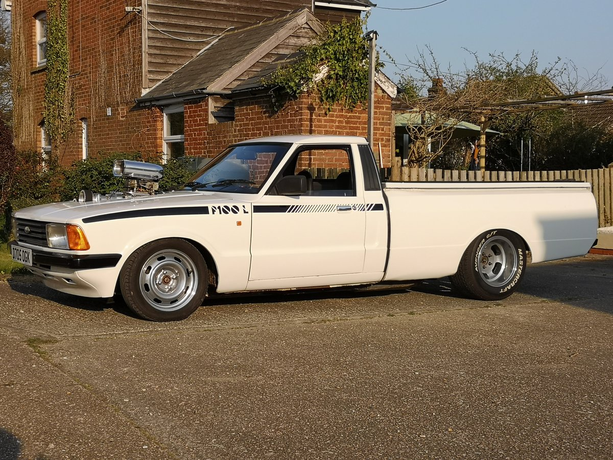 1987 Ford Cortina P100 Pickup HotRod For Sale (picture 2 of 6)