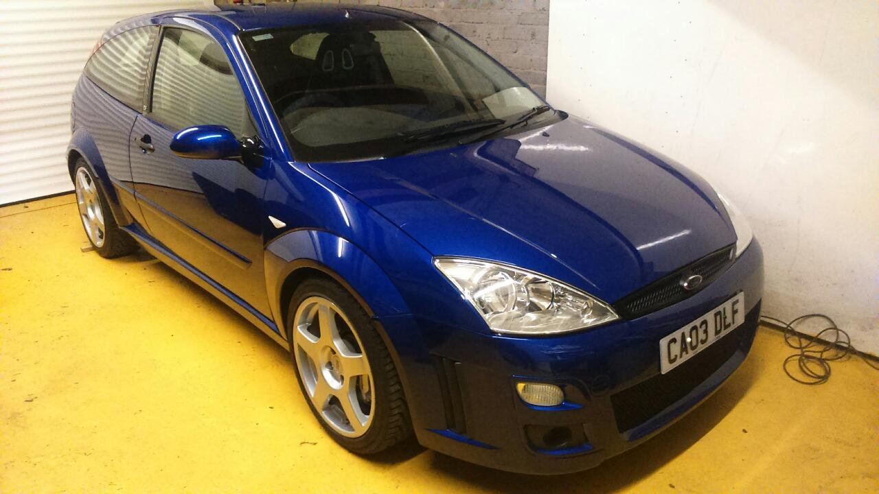2003 Ford Focus RS - Mk1 - 19,600 miles - Standard Spec For Sale (picture 1 of 6)