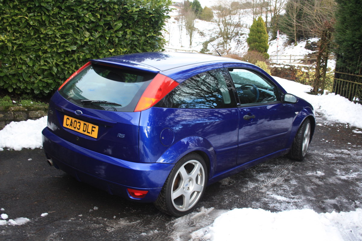 2003 Ford Focus RS - Mk1 - 19,600 miles - Standard Spec For Sale (picture 2 of 6)