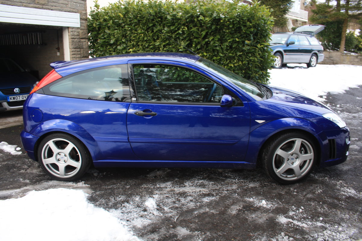 2003 Ford Focus RS - Mk1 - 19,600 miles - Standard Spec For Sale (picture 3 of 6)