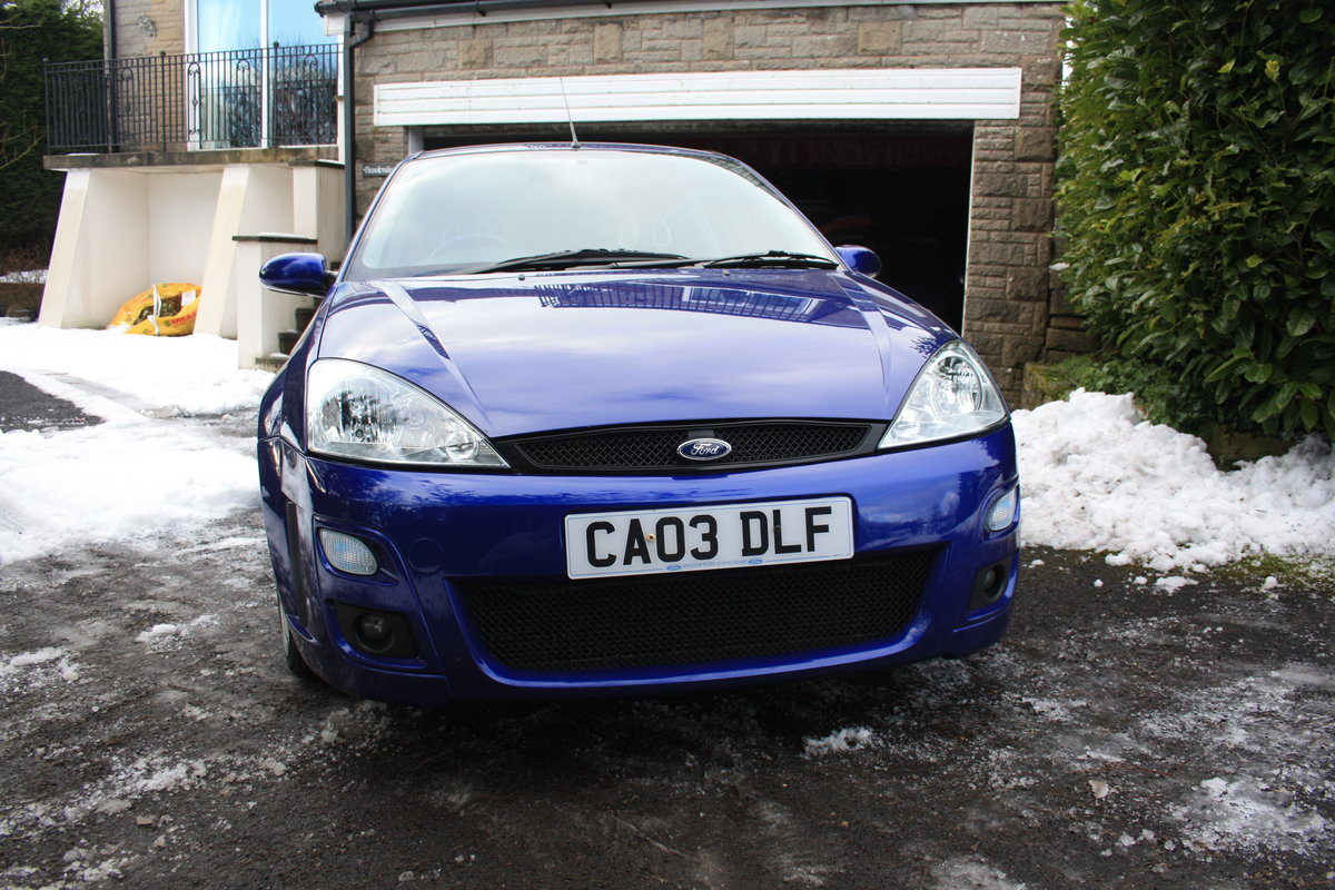 2003 Ford Focus RS - Mk1 - 19,600 miles - Standard Spec For Sale (picture 4 of 6)
