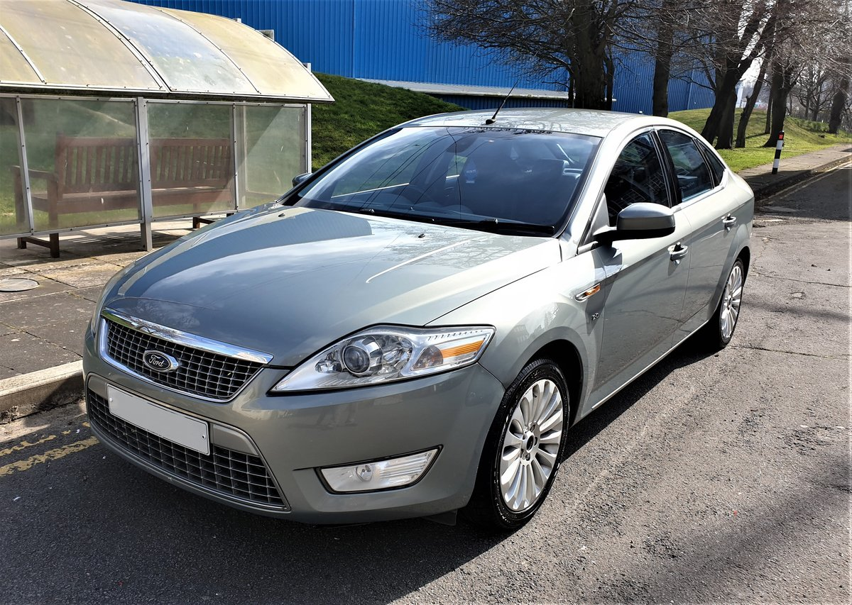 2008 FORD MONDEO 2.0 TDCI TITANIUM X 140BHP 6 SPEED For Sale (picture 1 of 6)