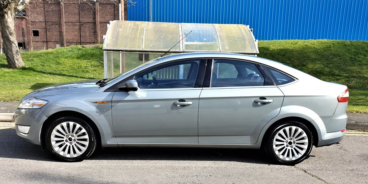 2008 FORD MONDEO 2.0 TDCI TITANIUM X 140BHP 6 SPEED For Sale (picture 3 of 6)
