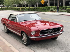 Picture of 1967 Ford Mustang Convertible SOLD