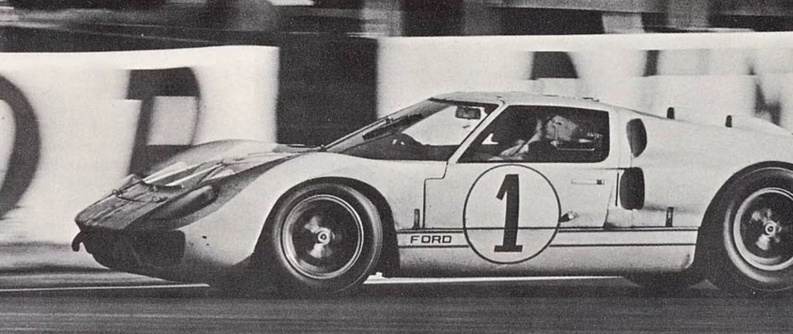 1965 Ford GT40 (FIA papers, race car) For Sale (picture 1 of 1)