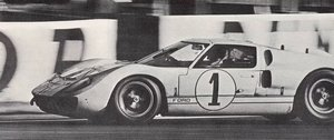 1965 Ford GT40 (FIA papers, race car)