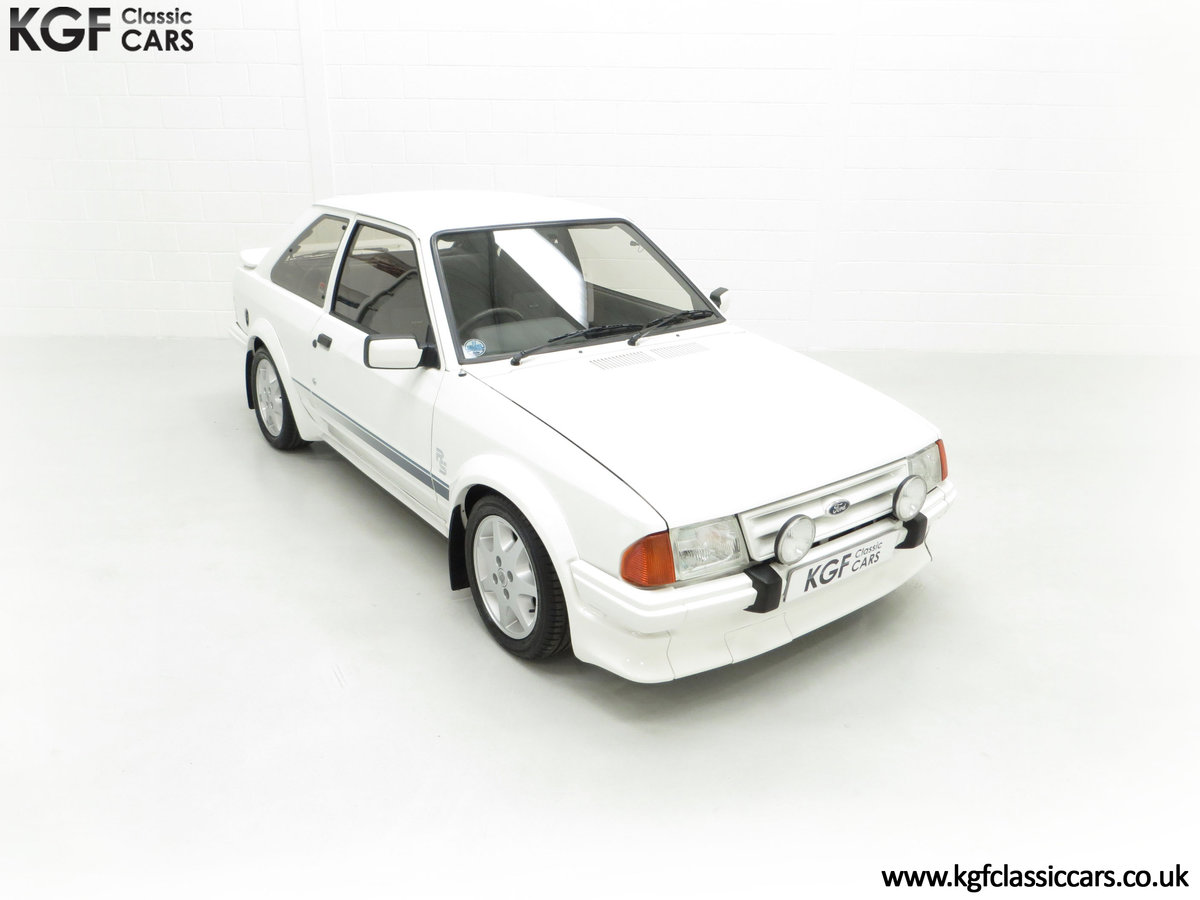 1985 An Iconic Unmolested Ford Escort Series 1 RS Turbo SOLD (picture 2 of 24)