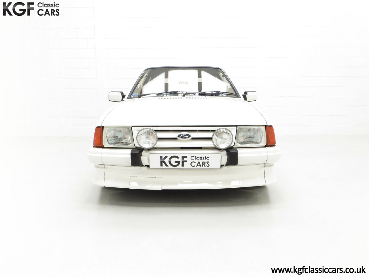 1985 An Iconic Unmolested Ford Escort Series 1 RS Turbo For Sale (picture 3 of 24)