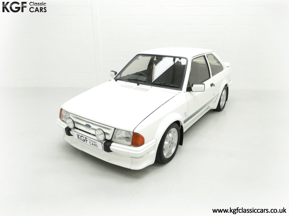 1985 An Iconic Unmolested Ford Escort Series 1 RS Turbo For Sale (picture 5 of 24)