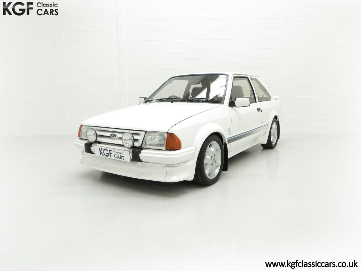 1985 An Iconic Unmolested Ford Escort Series 1 RS Turbo SOLD (picture 6 of 24)