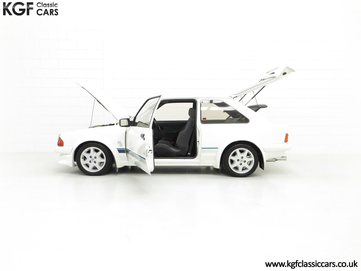 1985 An Iconic Unmolested Ford Escort Series 1 RS Turbo For Sale (picture 7 of 24)