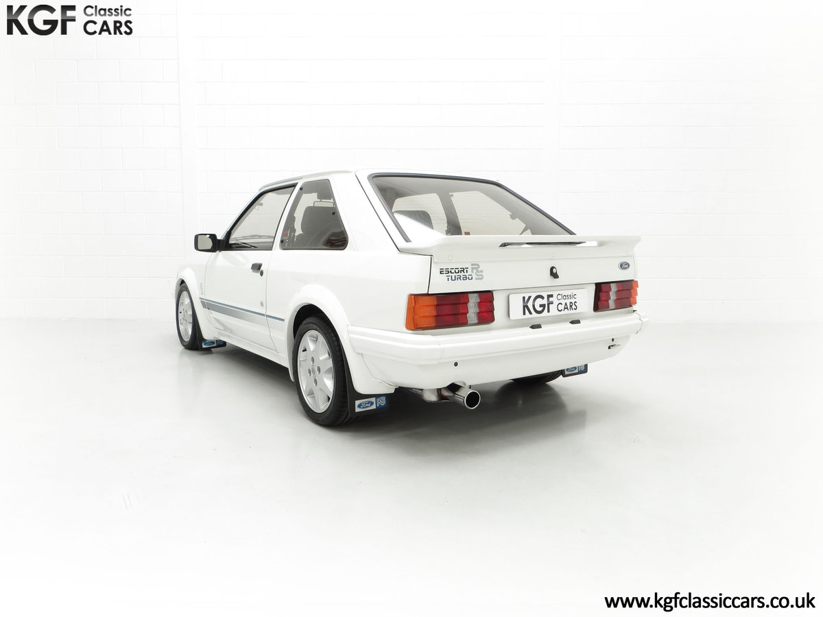 1985 An Iconic Unmolested Ford Escort Series 1 RS Turbo For Sale (picture 8 of 24)