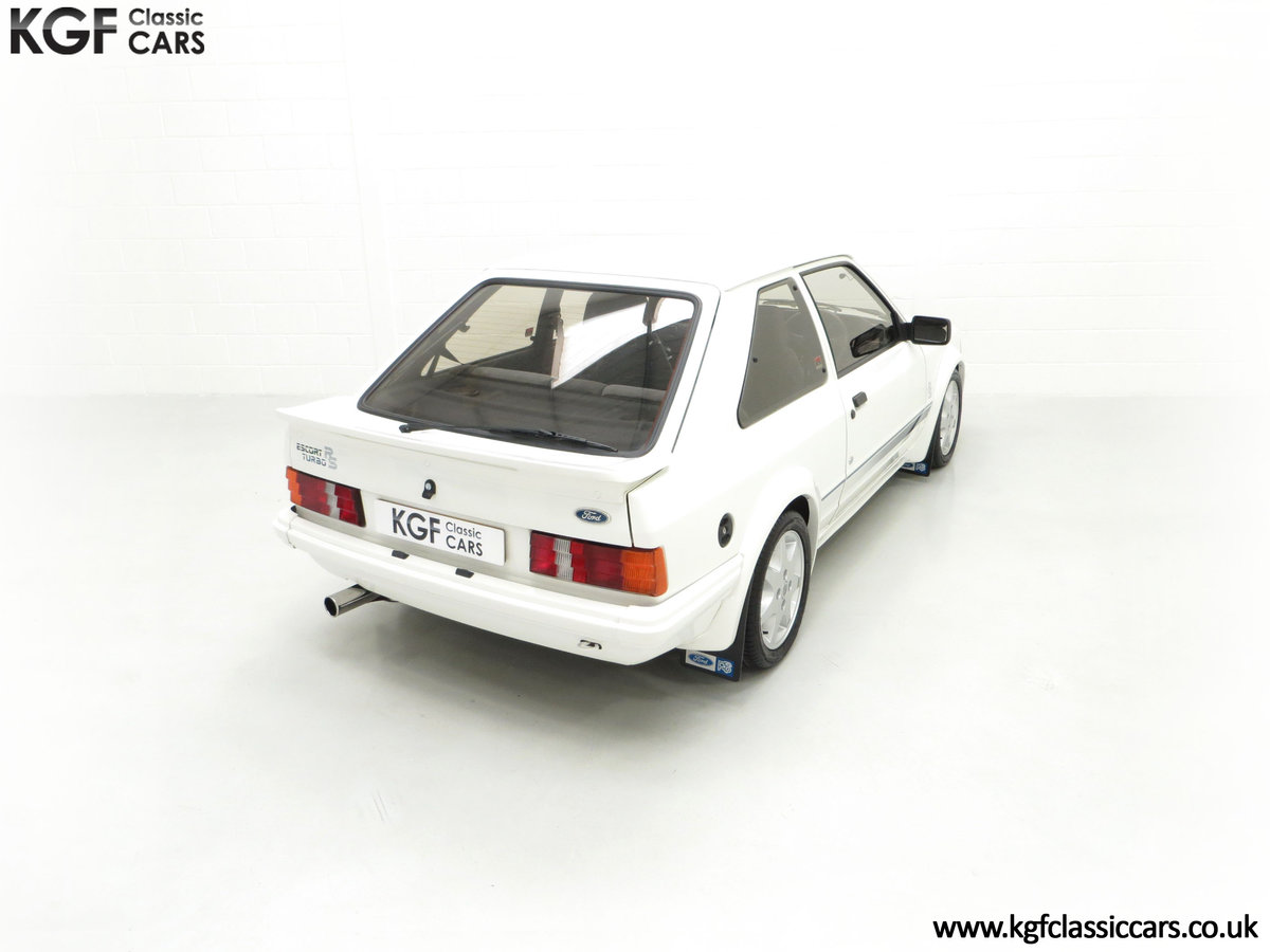 1985 An Iconic Unmolested Ford Escort Series 1 RS Turbo SOLD (picture 12 of 24)