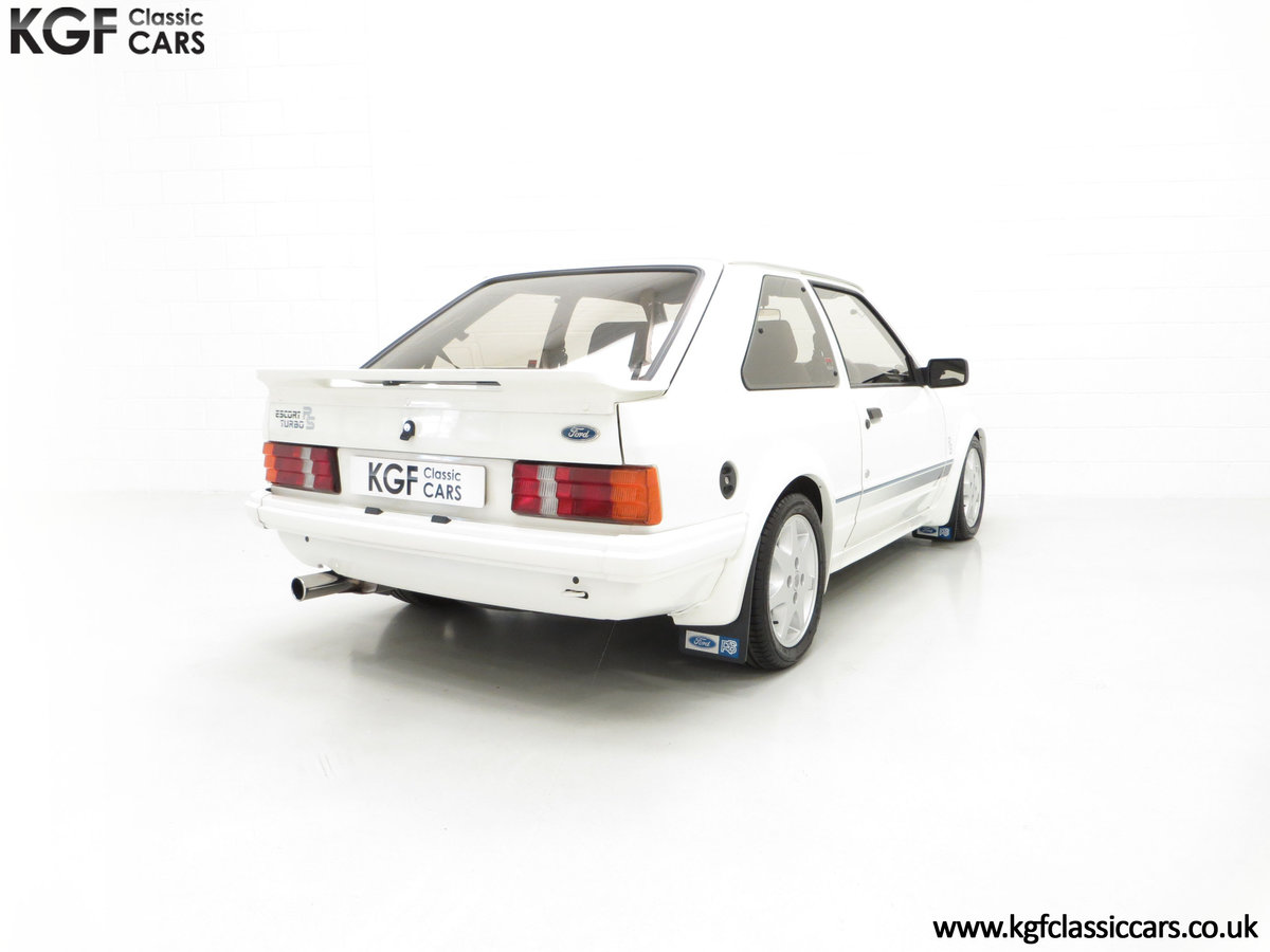 1985 An Iconic Unmolested Ford Escort Series 1 RS Turbo For Sale (picture 13 of 24)