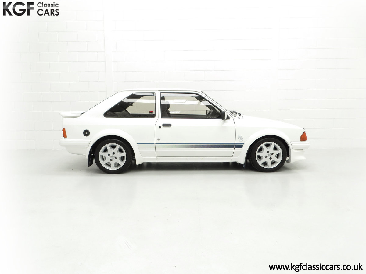 1985 An Iconic Unmolested Ford Escort Series 1 RS Turbo For Sale (picture 14 of 24)