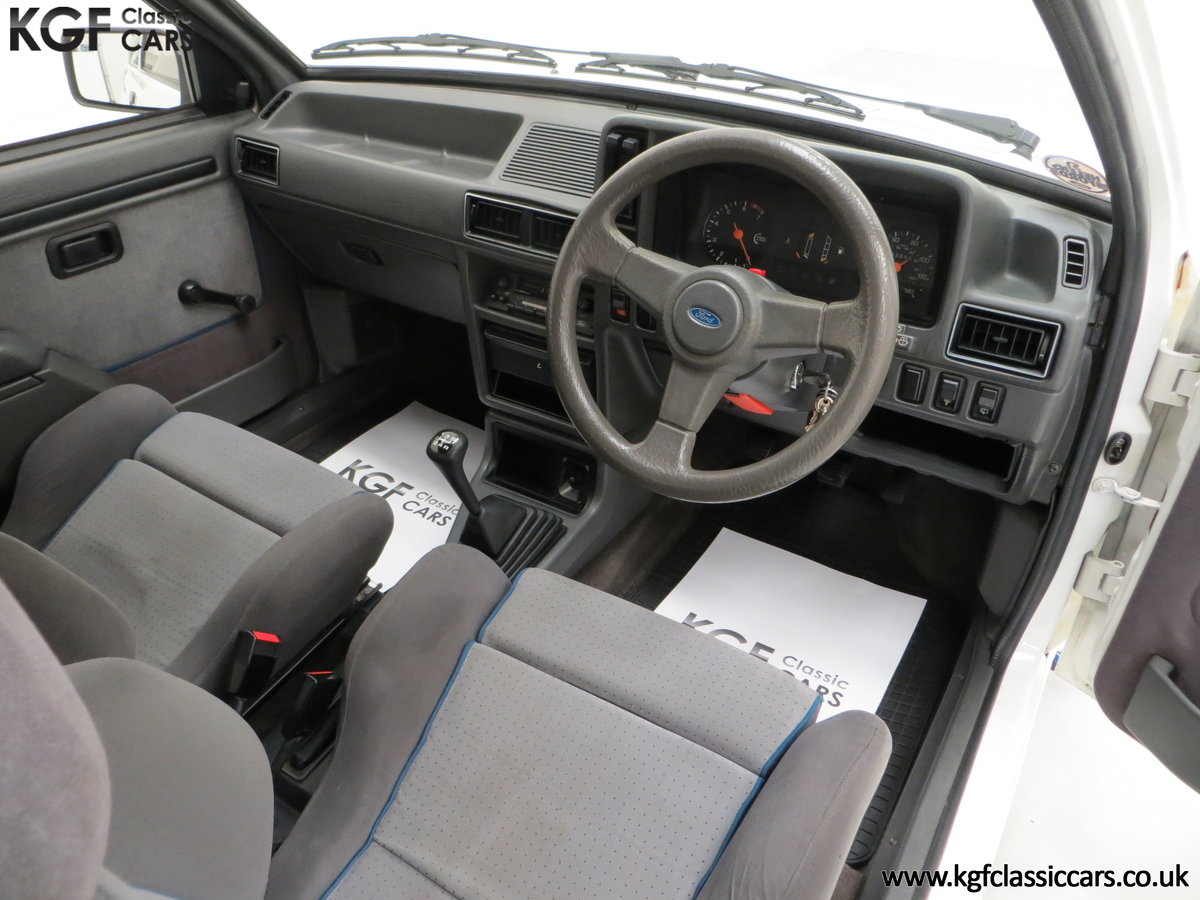1985 An Iconic Unmolested Ford Escort Series 1 RS Turbo For Sale (picture 18 of 24)