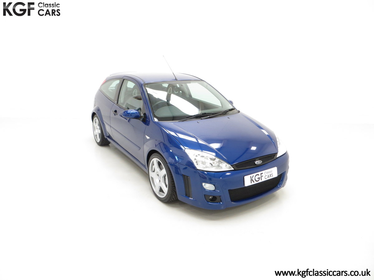 2003 An Impeccable Ford Focus RS Mk1 with 10,937 Miles SOLD (picture 2 of 24)