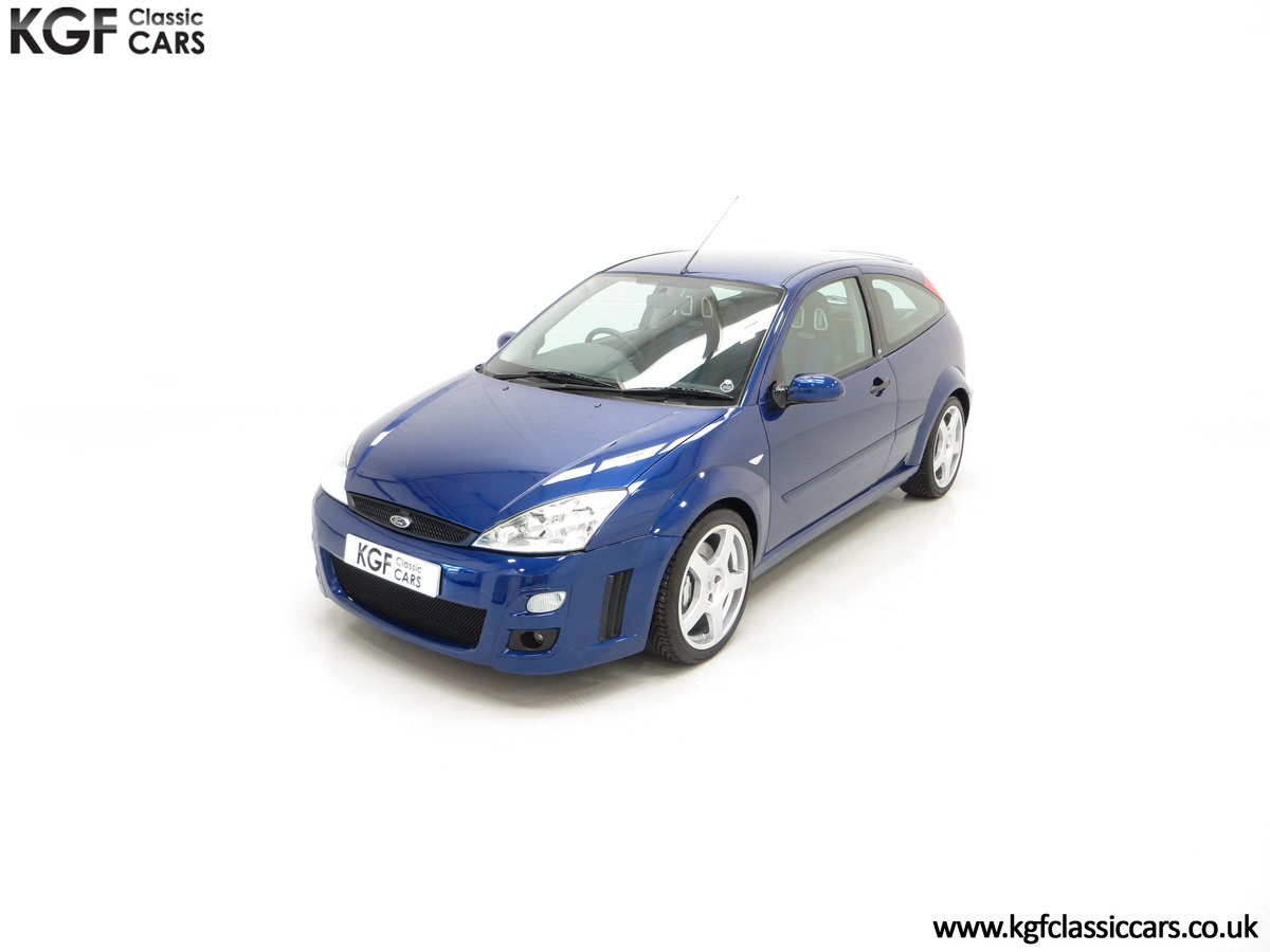 2003 An Impeccable Ford Focus RS Mk1 with 10,937 Miles SOLD (picture 5 of 24)