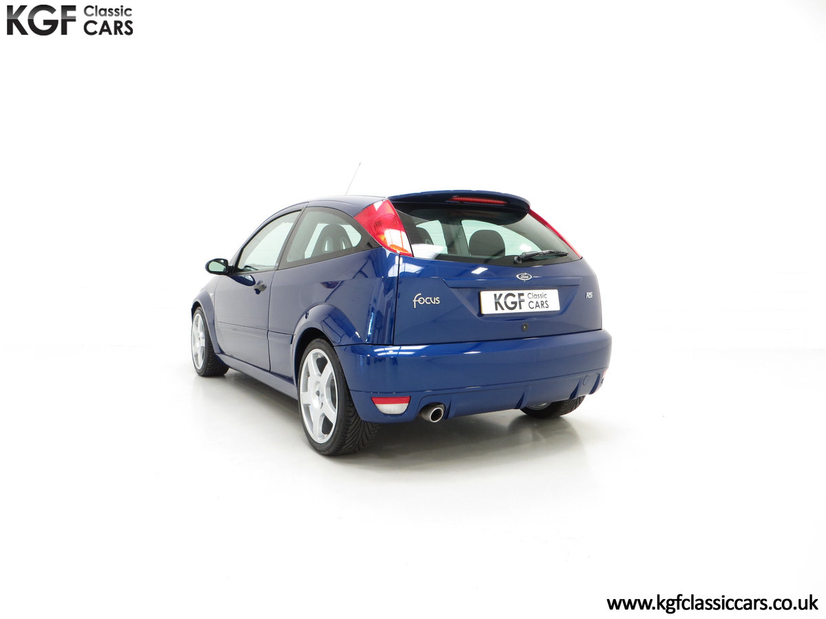 2003 An Impeccable Ford Focus RS Mk1 with 10,937 Miles SOLD (picture 8 of 24)