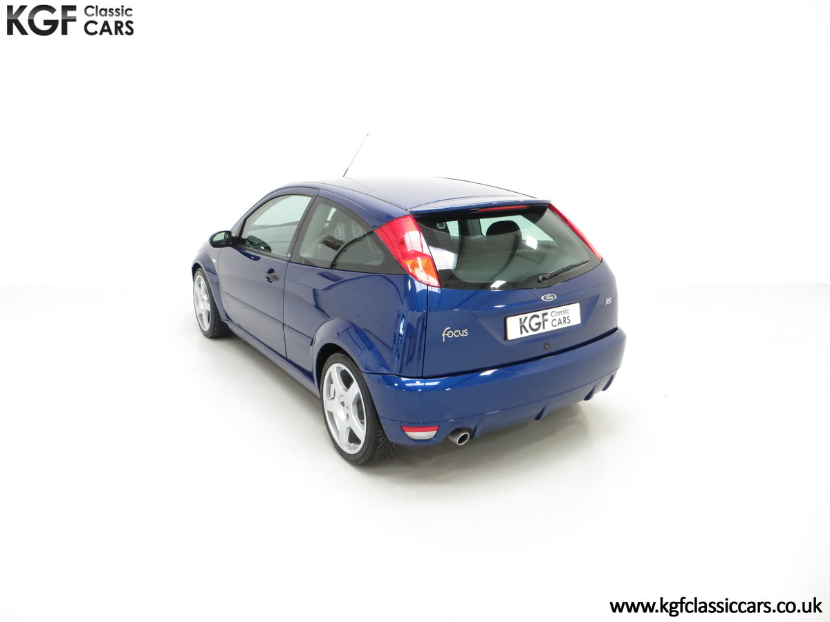 2003 An Impeccable Ford Focus RS Mk1 with 10,937 Miles SOLD (picture 9 of 24)