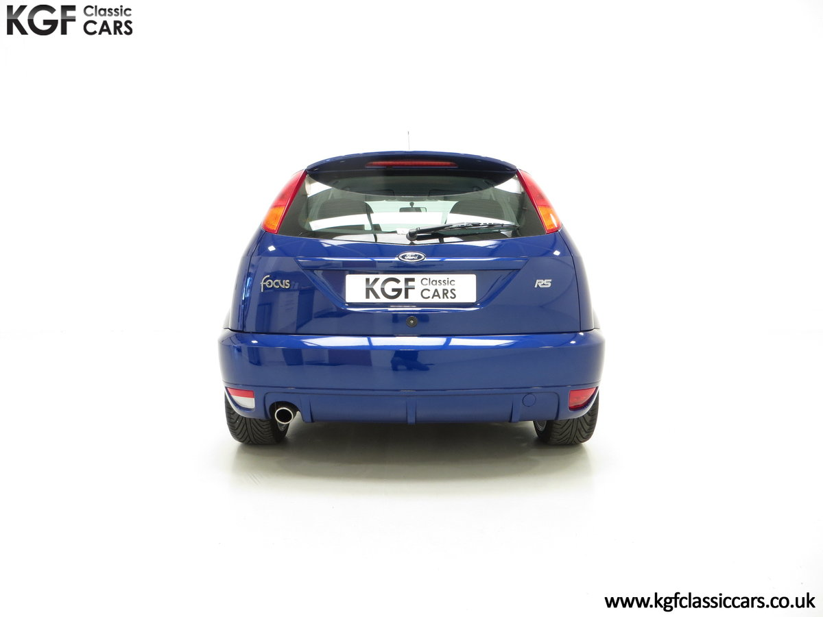 2003 An Impeccable Ford Focus RS Mk1 with 10,937 Miles SOLD (picture 10 of 24)