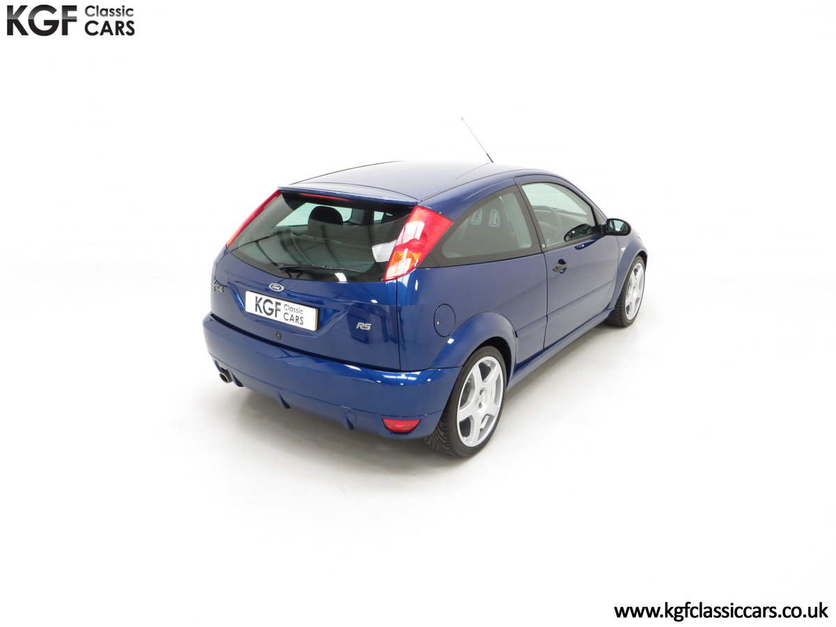 2003 An Impeccable Ford Focus RS Mk1 with 10,937 Miles SOLD (picture 12 of 24)