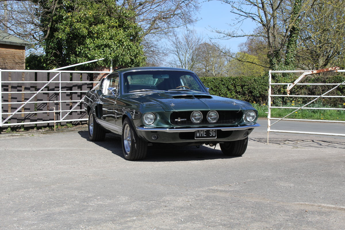 1967 Ford Mustang Shelby GT350, 100k+ Restoration, 400bhp SOLD (picture 1 of 18)