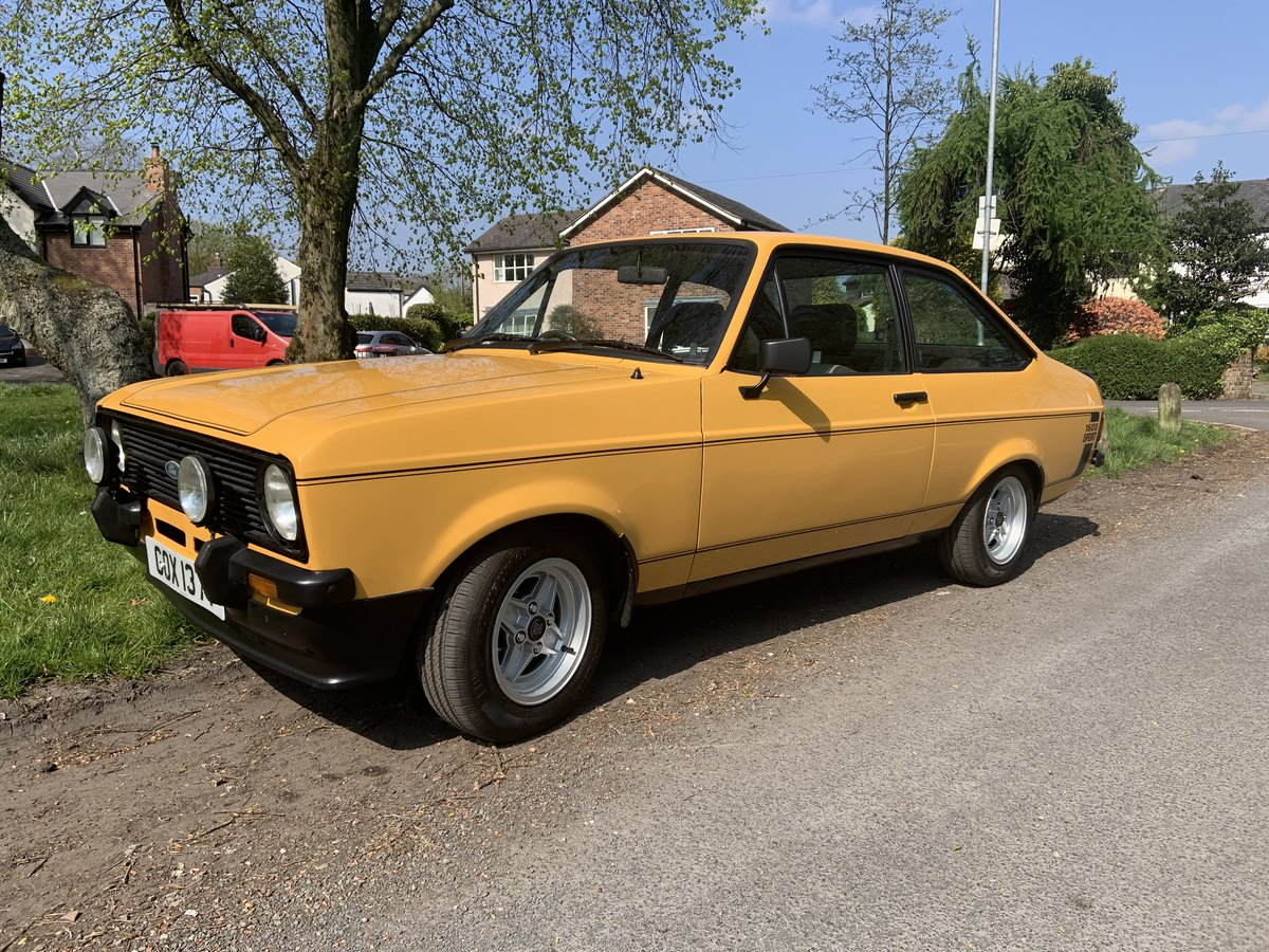 1989 Ford Escort 1600 Sport (1980) £14500 SOLD (picture 1 of 6)