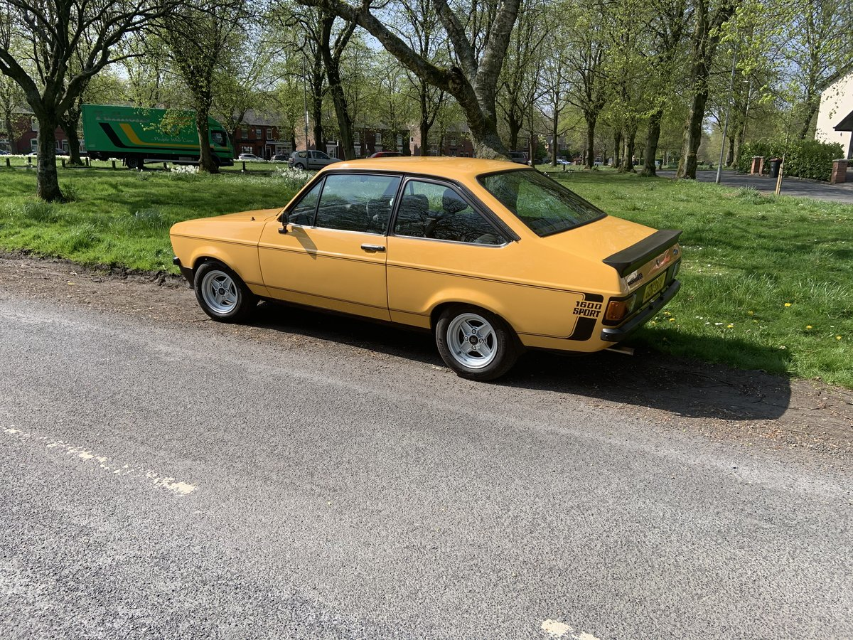1989 Ford Escort 1600 Sport (1980) £14500 SOLD (picture 2 of 6)