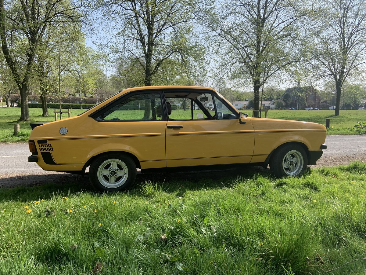 1989 Ford Escort 1600 Sport (1980) £14500 SOLD (picture 3 of 6)