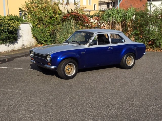1969 Ford Escort Mk1 TC lhd For Sale (picture 1 of 3)