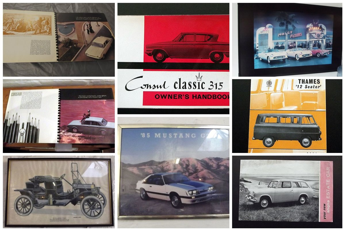 0000 FORD MEMORABILIA AND CLASSIC CAR SALES BROCHURES For Sale (picture 2 of 6)