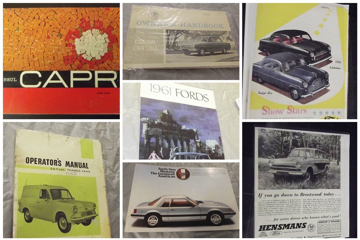 0000 FORD MEMORABILIA AND CLASSIC CAR SALES BROCHURES For Sale (picture 5 of 6)