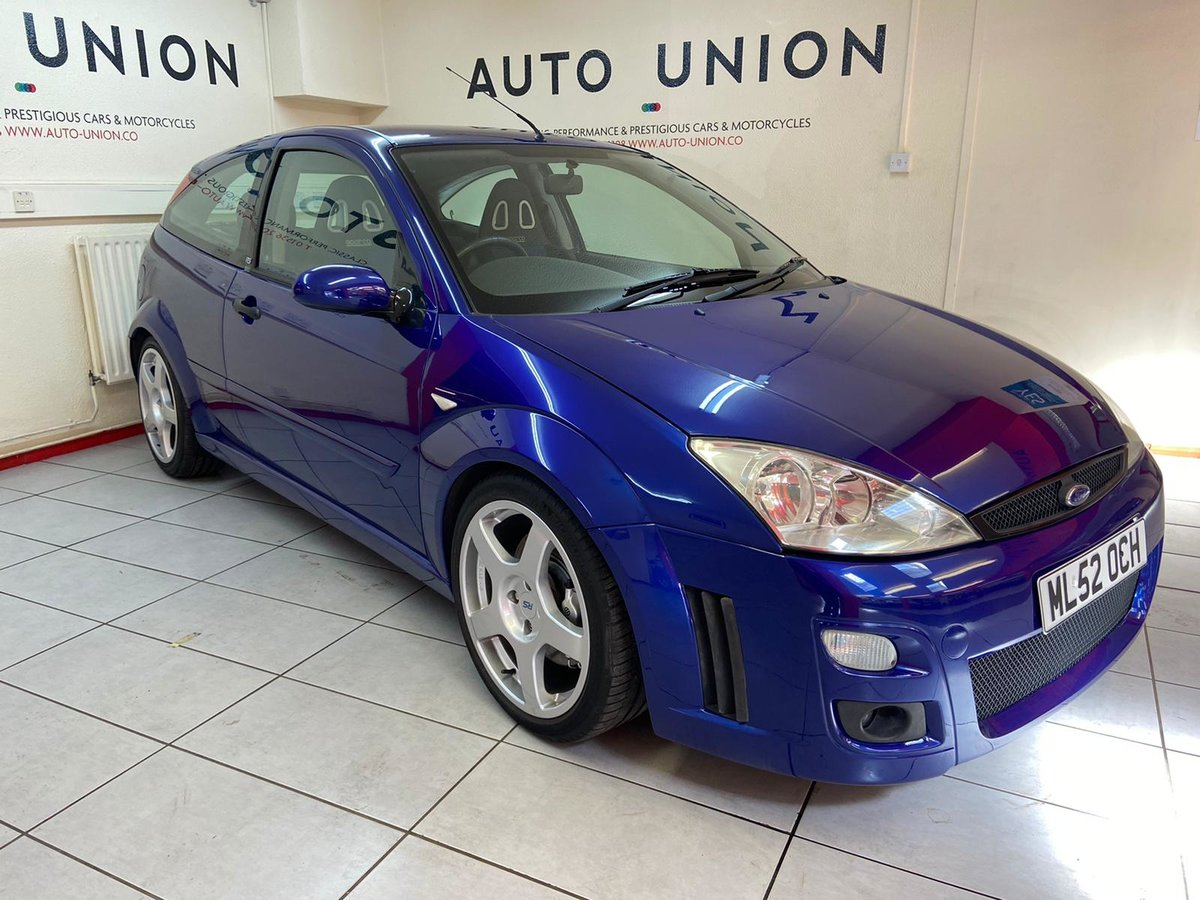 2002 FORD FOCUS RS MK1 For Sale (picture 1 of 6)
