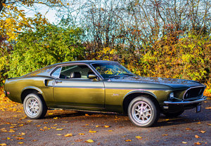 1969 Ford Mustang Fastback 3 Speed Manual | Rare Black Jade SOLD