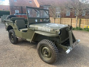 1942 Ford Jeep For Sale by Auction