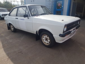 1976 Escort Mexico Rallycar Rolling Shell For Sale