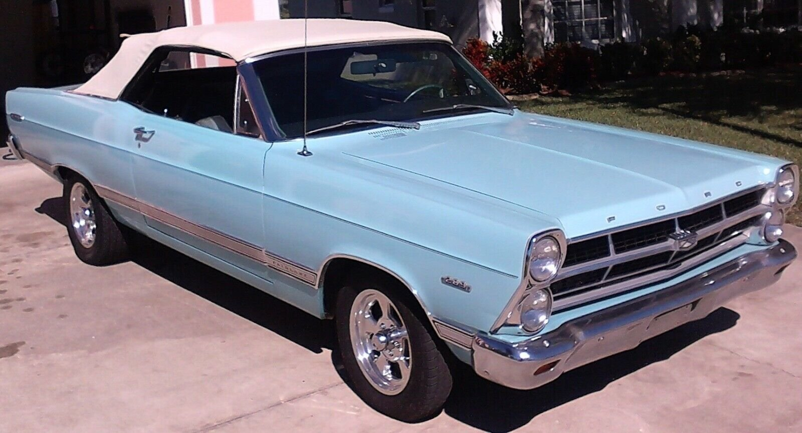 1967 Ford Fairlane Convertible For Sale (picture 1 of 6)