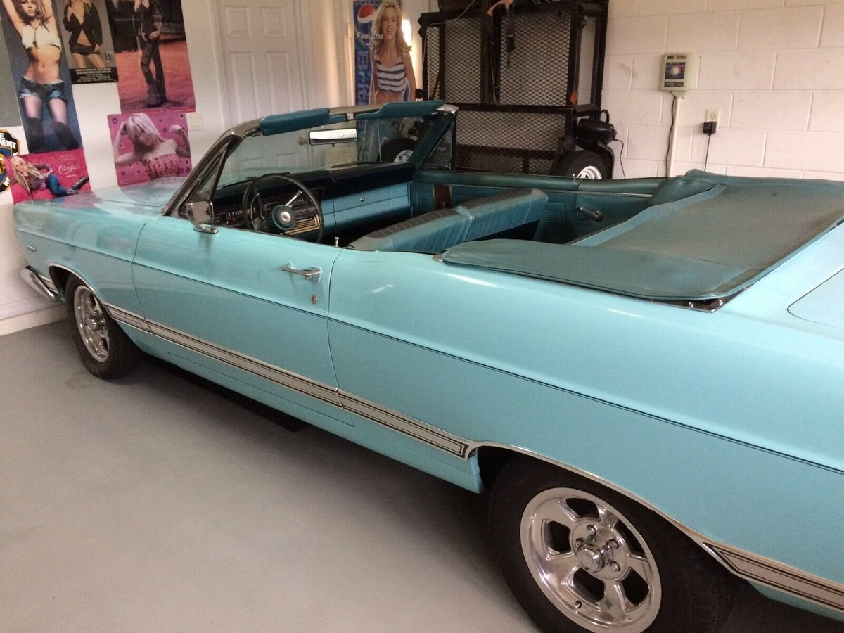 1967 Ford Fairlane Convertible For Sale (picture 2 of 6)