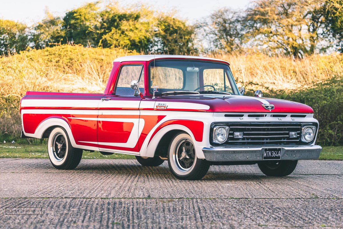 1963 Ford F100 Unibody Custom Show Truck Sold Car And Classic