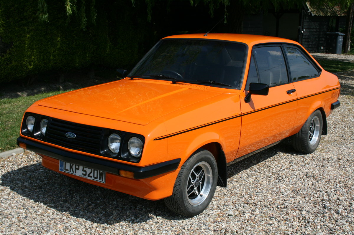 1980 Ford Escort MK2 RS 2000. NOW SOLD  For Sale (picture 1 of 6)