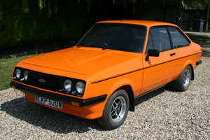 Picture of 1980 Ford Escort MK2 RS 2000. NOW SOLD