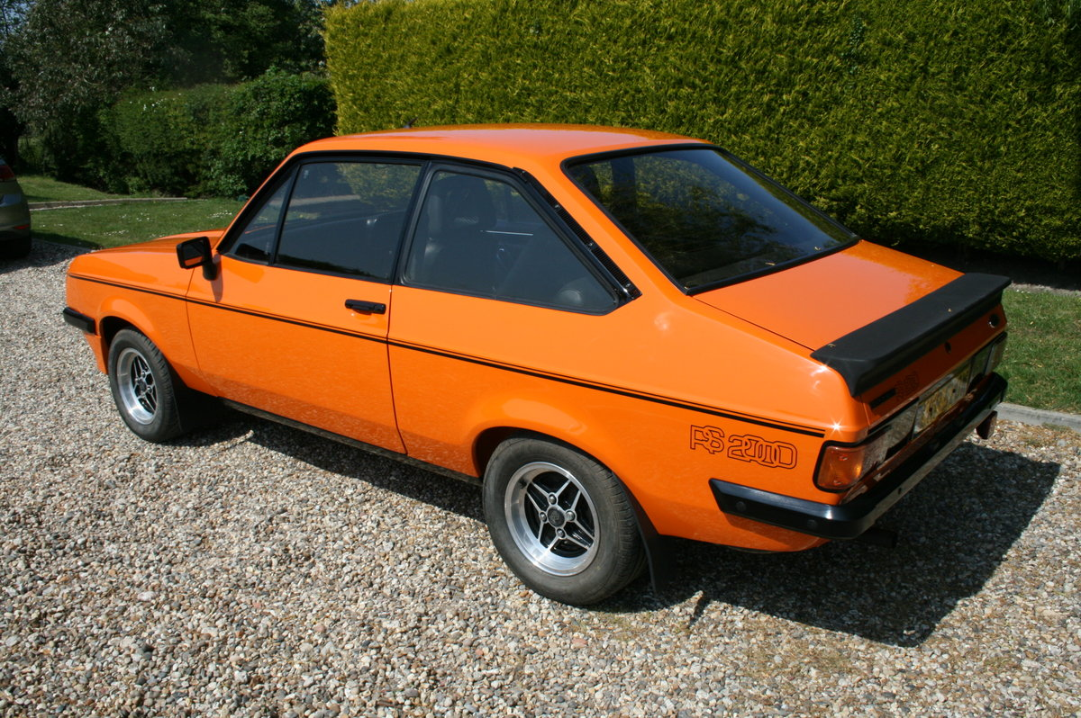 1980 Ford Escort MK2 RS 2000. NOW SOLD  For Sale (picture 2 of 6)