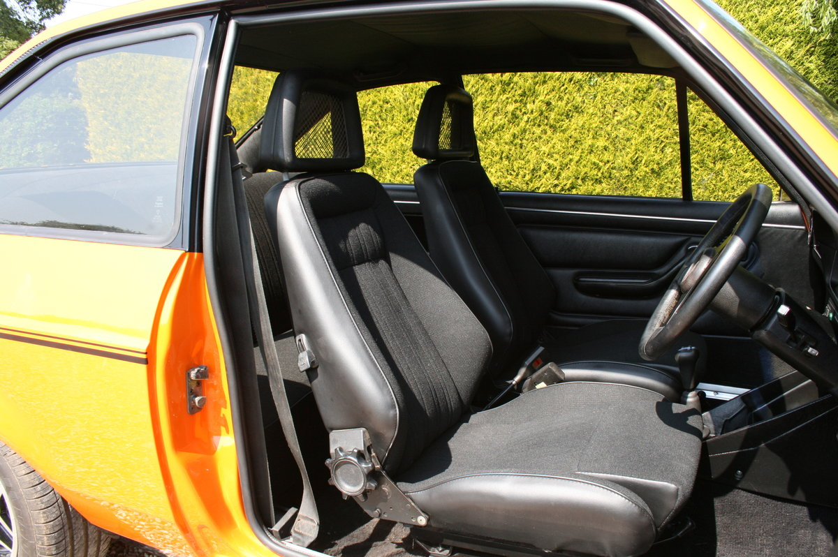 1980 Ford Escort MK2 RS 2000. NOW SOLD  For Sale (picture 5 of 6)