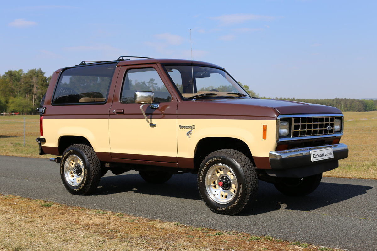 1984 A desirable Ford Bronco II converted to LPG SOLD (picture 1 of 6)